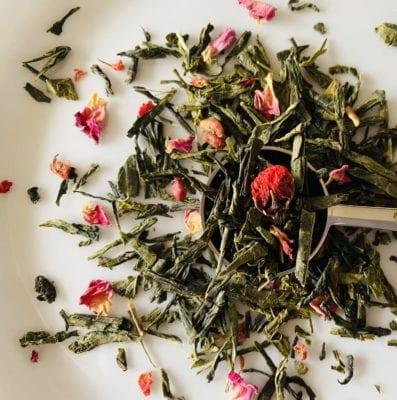 Flowergarden-Groene thee granaatappel